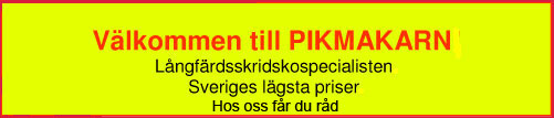 Långfärdsskridskor specialisten PIKMAKARN. Sveriges lägsta priser.