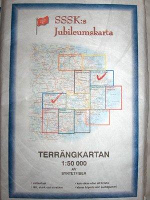 Allväderskartan, SSSK:s jubileumskarta i Tyvek