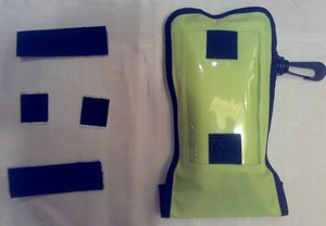 Ryggsäcksfäste för mobil- och kamerafodral