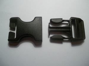 Klick-ihopbeslag för 25mm rem Universal