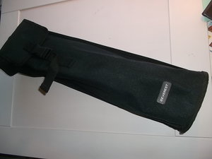 Skridskofodral  som fästes på sidan av ryggsäcken